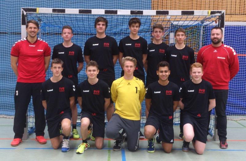Männl. B-Jugend - Saison 2017/2018